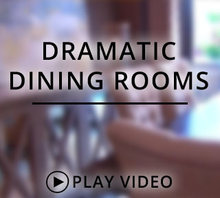 Dramatic Dining Rooms